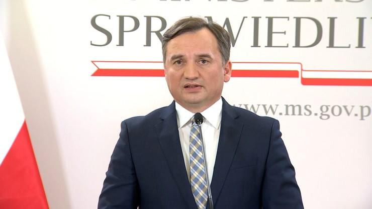 Orzeczenie TSUE. Ziobro: żaden polski polityk nie może się z nim zgodzić