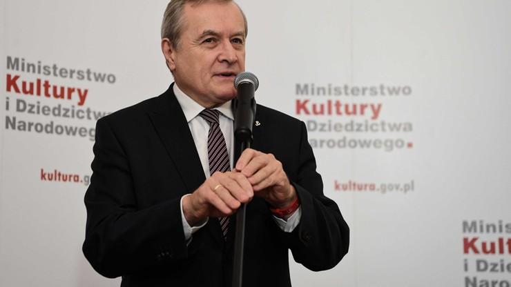 Gliński o słowach Fedorowicza: nie ma zgody na szantaż dziećmi