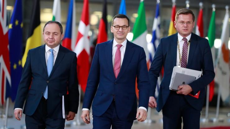 Premier w Brukseli: zmiany ws. SN pokazują naszą wyciągniętą rękę
