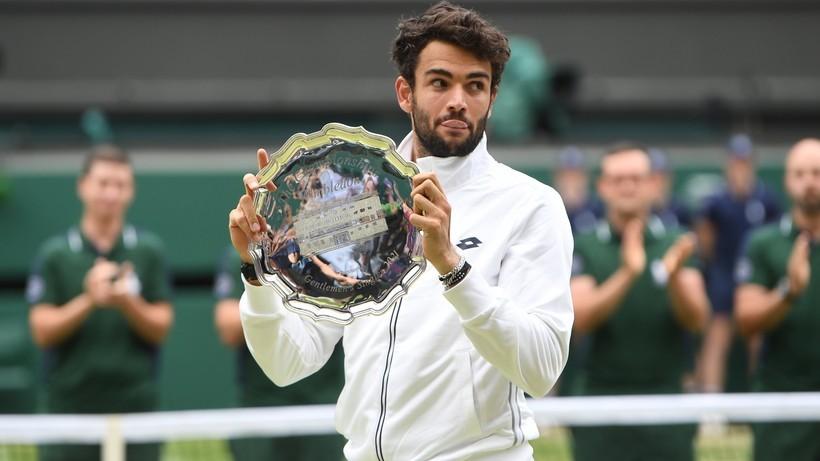 Tokio 2020: Matteo Berrettini nie zagra w turnieju tenisowym