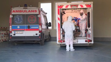 Ponad 13,5 tys. nowych przypadków, rośnie liczba osób pod respiratorami