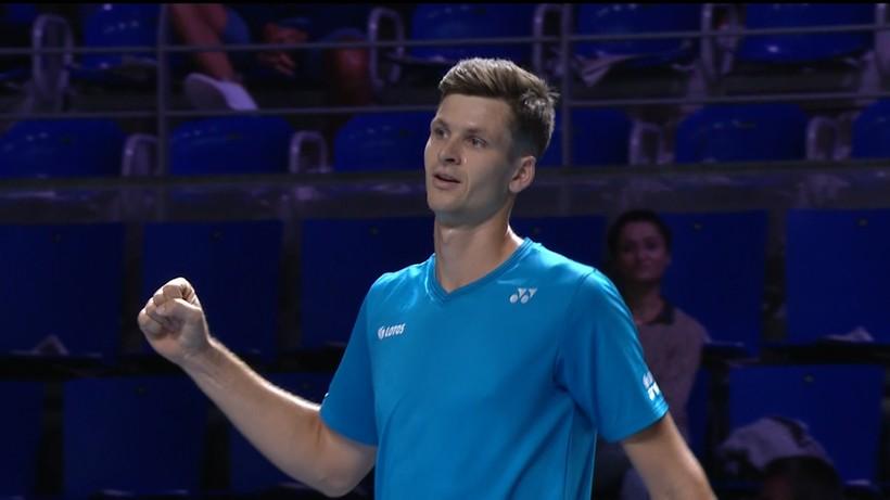 ATP Metz: Pewne zwycięstwo Huberta Hurkacza. Czeka go mecz z Andy Murrayem