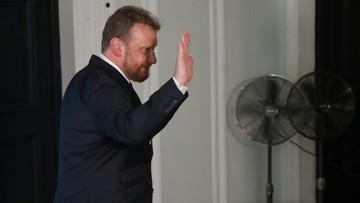 Ziobro: na ten moment nie widzę powodów, by Szumowski miał się bać