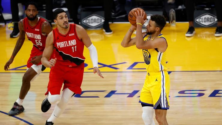 """NBA: """"Kosmita wrócił na parkiet"""". 62 punkty w 36 minut Stephena Curry'ego!"""