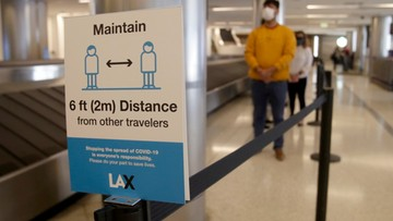 Z Wielkiej Brytanii do USA tylko z negatywnym wynikiem testu na koronawirusa