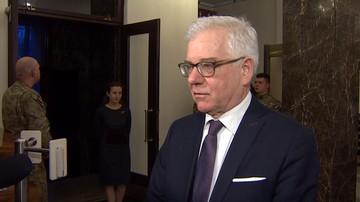 """Czaputowicz przed spotkaniem z Timmermansem. """"Jest problem pewnego krytykowania Polski"""""""