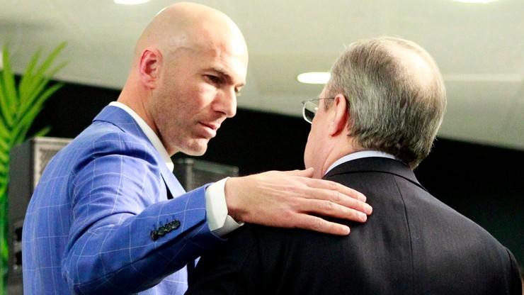 Zidane o odejściu: Robię to w trosce o Real