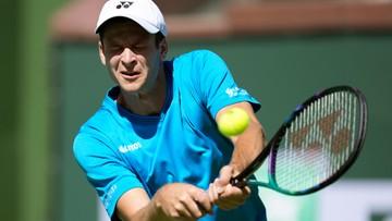 ATP w Indian Wells: Hubert Hurkacz - Grigor Dimitrow. Gdzie obejrzeć?