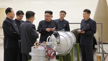 """Korea Płn. twierdzi, że zbudowała bombę wodorową. """"Wyprodukowana w oparciu o rodzimą technologię"""""""