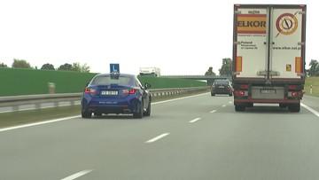 Pierwszy taki kurs. Uczą jazdy po autostradzie