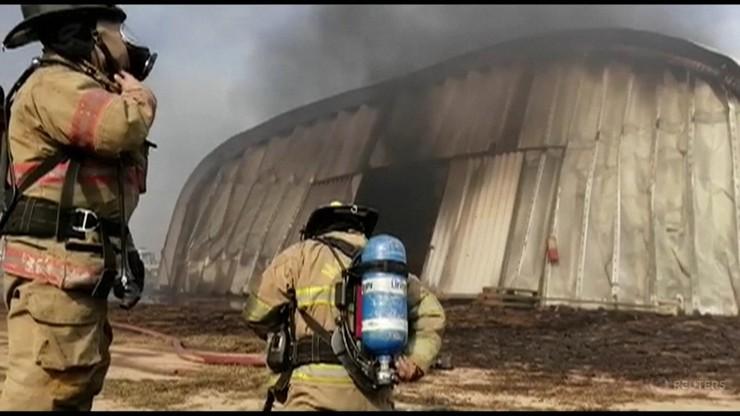Pożary w Boliwii. Ogień zniszczył międzynarodowe lotnisko