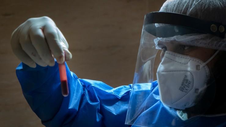 W. Brytania. Najwyższa dobowa liczba zgonów podczas trzeciej fali epidemii