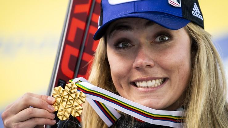 Alpejskie MŚ: Mikaela Shiffrin wśród najbardziej utytułowanych