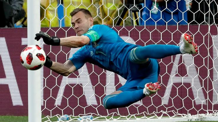 MŚ 2018: Sukces Rosjan wykuty przez bramkarzy