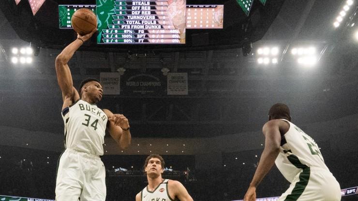 NBA: 38. zwycięstwo Bucks i 37. double-double Antetokounmpo