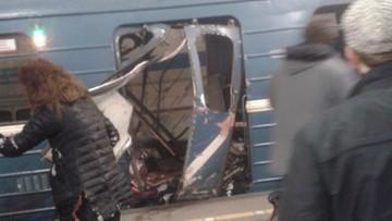Wybuch w Sankt Petersburgu. Media informują o zamachowcu samobójcy