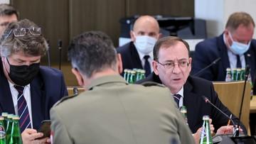 Szef MSWiA: sytuacja na polsko-białoruskiej granicy jest nadzwyczajna