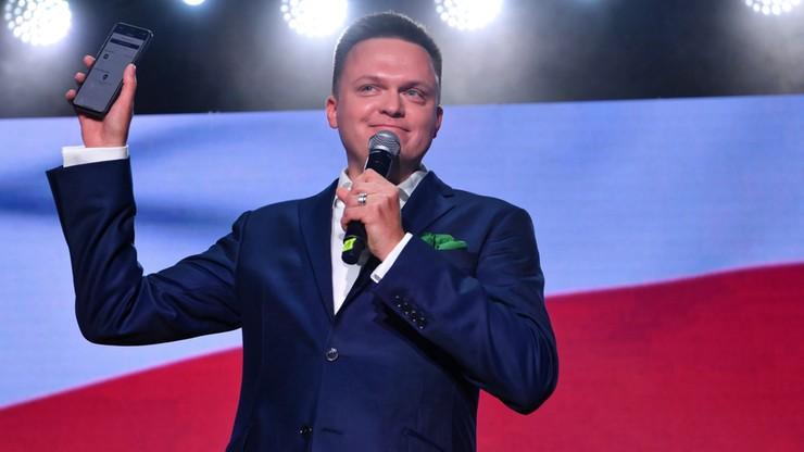 """Maciej Wąsik i Krzysztof Bosak pobrali """"Jaśminę""""? Szymon Hołownia zdradza"""