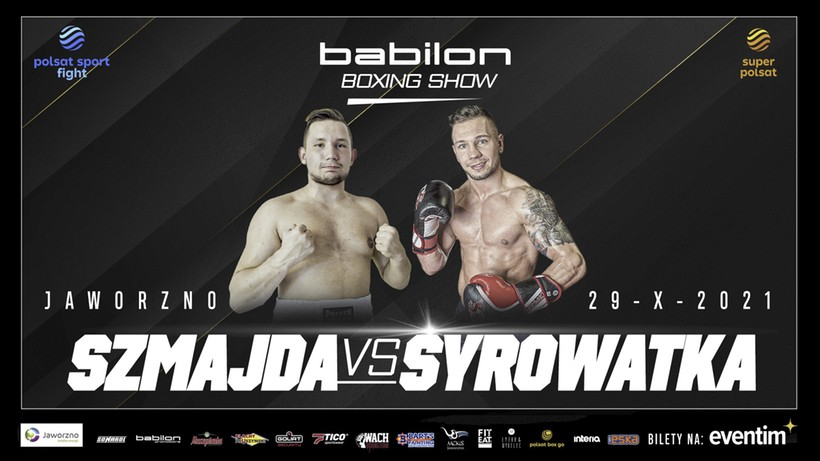 Babilon Boxing Show w Jaworznie. Michał Syrowatka i Jan Lodzik w karcie walk