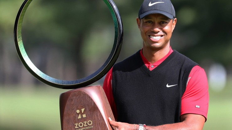 """Woods wyrównał golfowy rekord """"z brodą"""""""