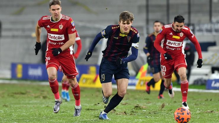 Fortuna Puchar Polski: Piast Gliwice wygrał w Szczecinie i awansował do ćwierćfinału