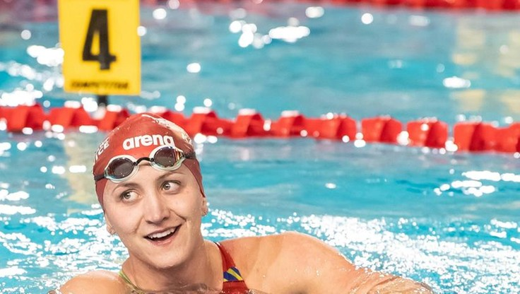ME w pływaniu: Rekord Polski Katarzyny Wasick na 50 m kraulem