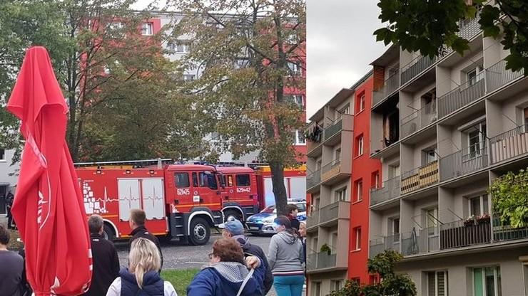Turek: wybuch w bloku przy ul. Wyszyńskiego. Trzy osoby ranne