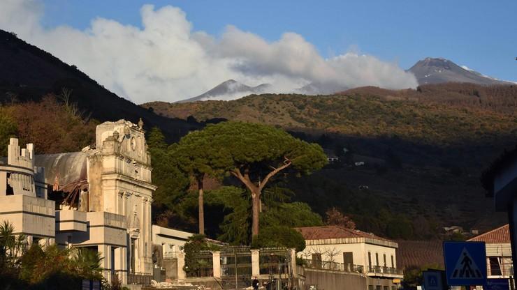 600 osób ewakuowano z domów po trzęsieniu ziemi w rejonie Etny