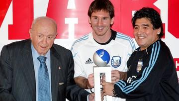 Leo Messi pożegnał Diego Maradonę