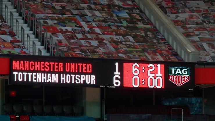 Jedna z największych klęsk w historii! Manchester United rozbity przez Tottenham