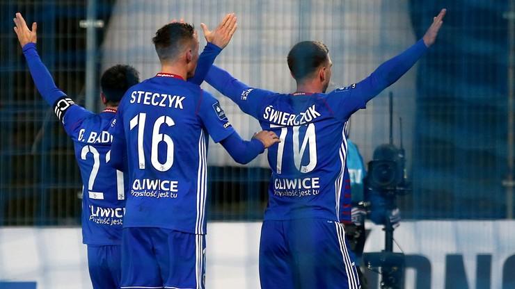 PKO BP Ekstraklasa: Pierwsze zwycięstwo Piasta Gliwice w sezonie