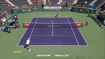 ATP w Indian Wells: Hubert Hurkacz - Asłan Karacew 2:0. Skrót meczu