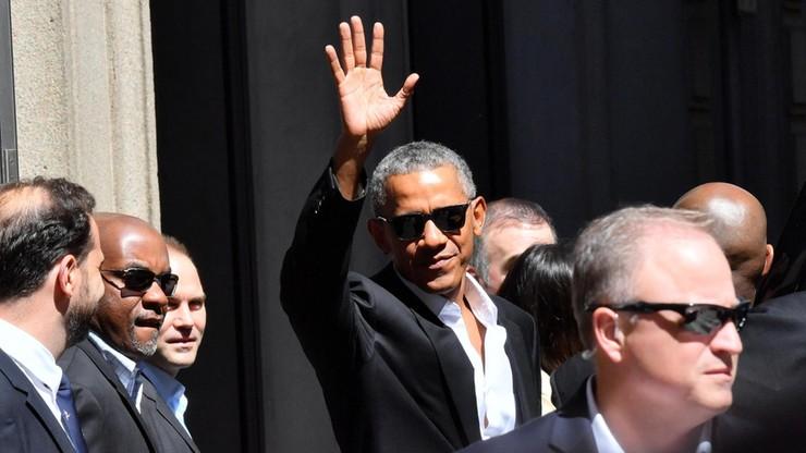 Obama owacyjnie witany w Mediolanie. Wejście na jego wykład kosztuje 850 euro