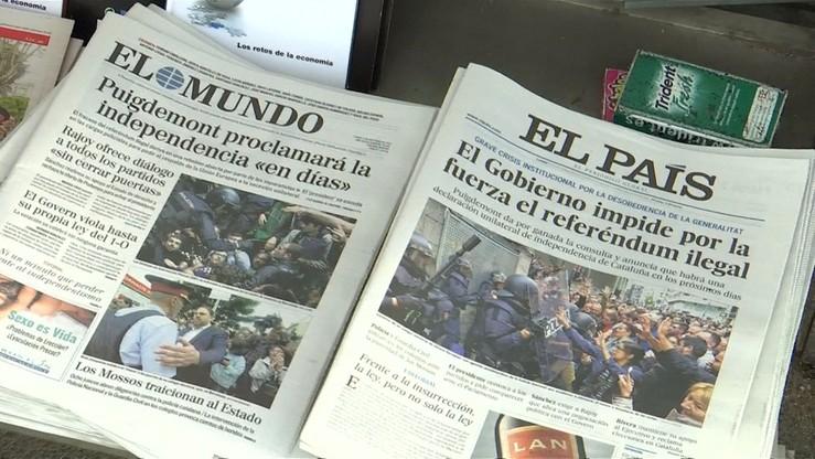 Hiszpańskie media krytykują polityków UE za brak solidarności z Madrytem