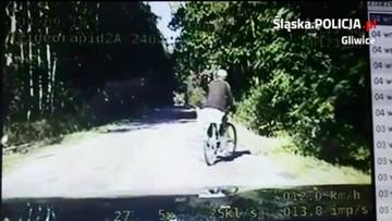 """Jechał """"wężykiem"""" 12 km/h, zatrzymała go… policyjna grupa Speed"""