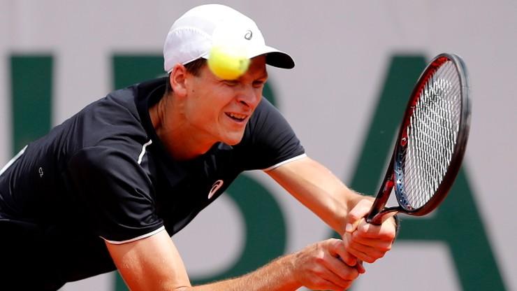 Challenger Poznań Open: Hurkacz awansował do drugiej rundy