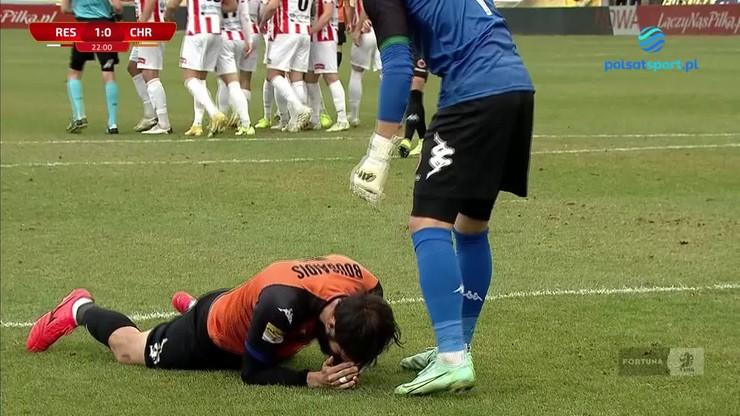 Fortuna 1 Liga: Mavroudis Bougaidis strzelił pięknego... samobója (WIDEO)