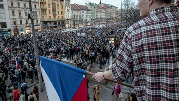 Antyrządowe demonstracje w Czechach. Protestujący wzywali premiera do rezygnacji