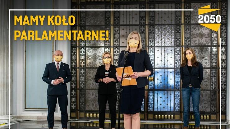 Polska 2050. Koło poselskie przekształcone w koło parlamentarne