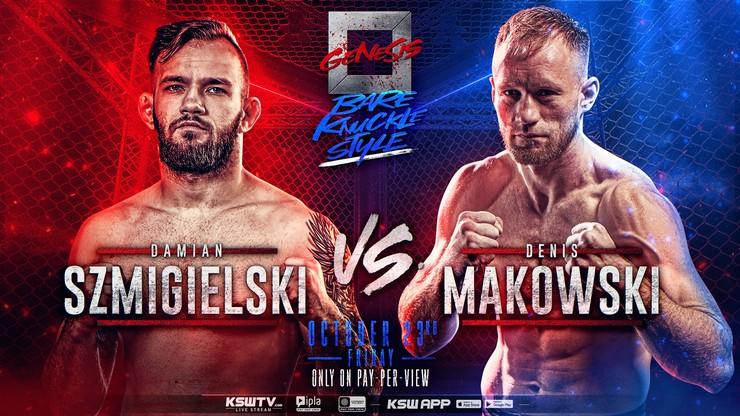 Damian Szmigielski kontra Denis Makowski ostatnią walką gali Genesis