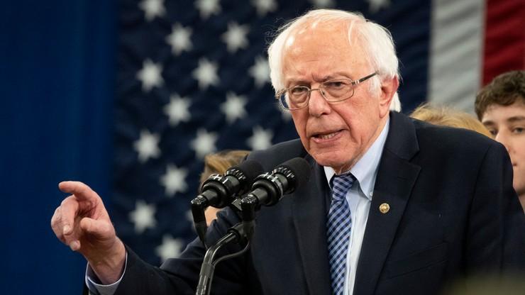 """Bernie Sanders wygrał prawybory w New Hampshire. """"To początek końca Trumpa"""""""