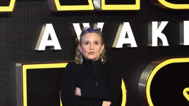 """Carrie Fisher z """"Gwiezdnych Wojen"""" miała zawał serca"""