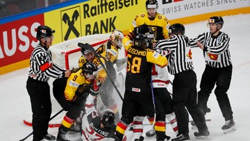 MŚ w hokeju: Pierwsza porażka Niemiec, pierwsze zwycięstwo Kanady