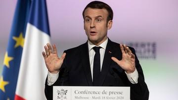 """""""Le Monde"""": Macron nie chce stygmatyzować muzułmanów"""
