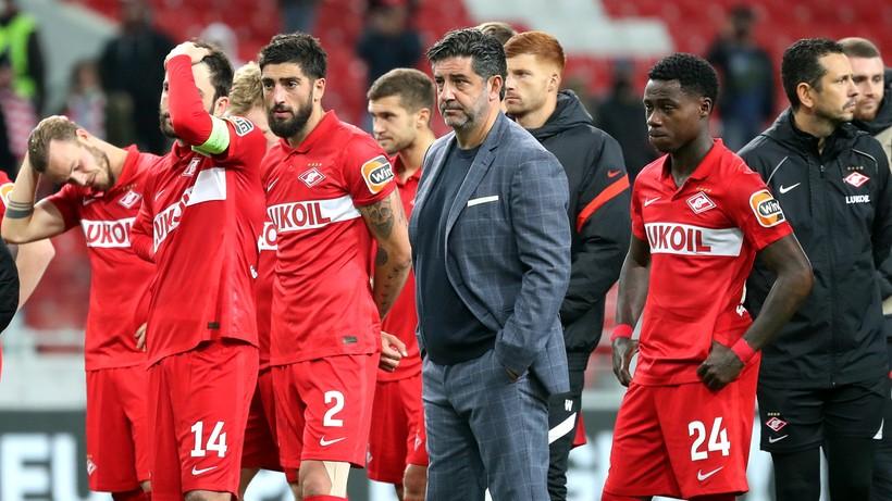 Spartak Moskwa - Legia Warszawa. Rosyjskie media po porażce gospodarzy