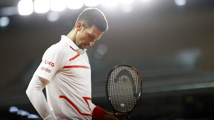 French Open: Novak Djoković stracił pięć gemów w pierwszej rundzie