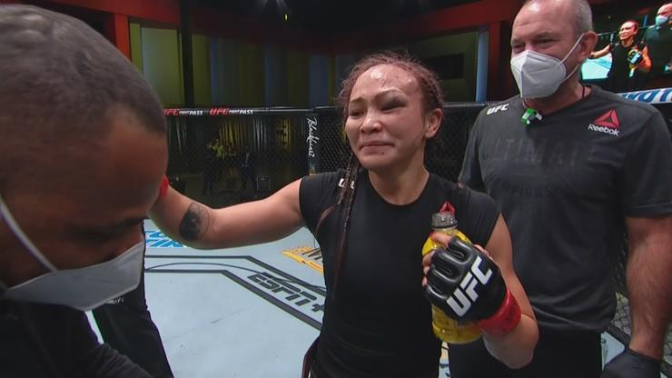 UFC Vegas 10: Wygrana Michelle Waterson po zaciętej pięciorundowej walce
