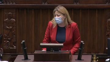 """Posłanka Lewicy mówiła o """"dekalogu z Nowogrodzkiej"""". """"Dziś dopisaliście jedenaste przykazanie"""""""