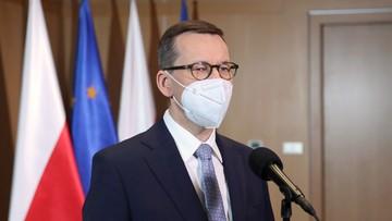 Morawiecki: wielkie wyzwania wymagają odważnych decyzji, nie boimy się ich podejmować