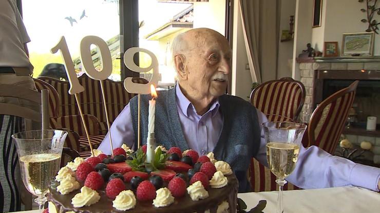 Najstarszy Niemiec... mieszka w Polsce. Byliśmy na jego urodzinach